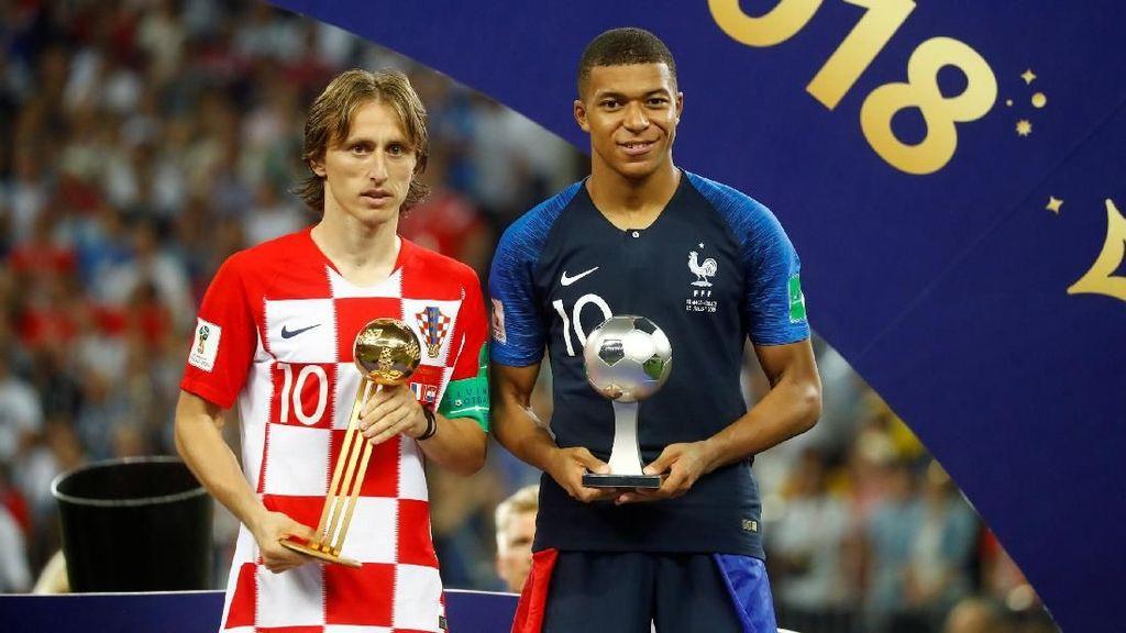 Video: Modric dan Mbappe Jadi yang Terbaik