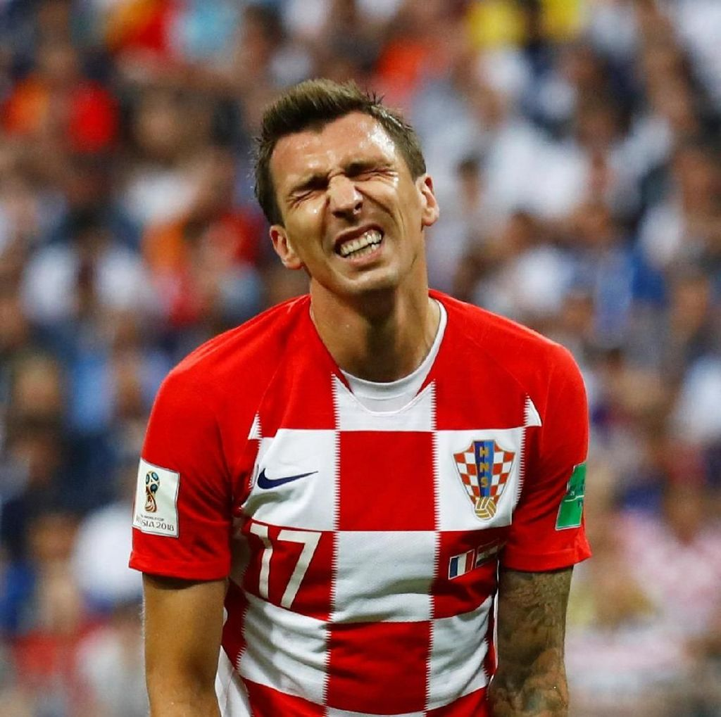 Mario Mandzukic Bikin Rekor Baru di Final Piala Dunia