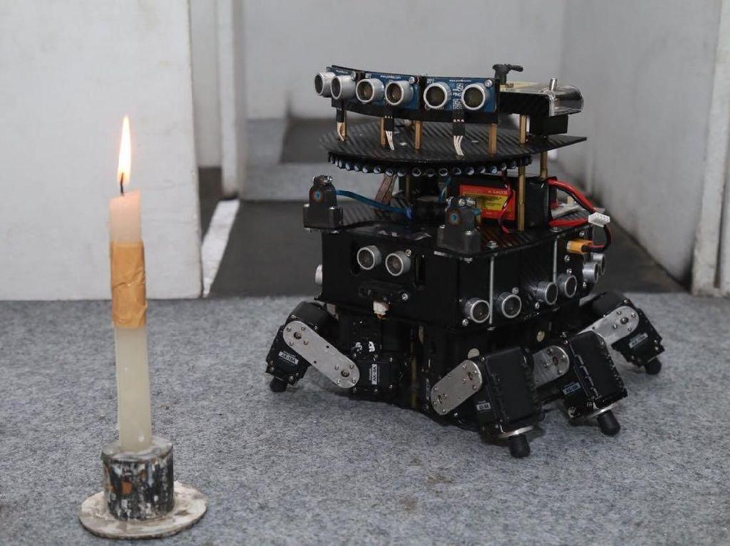 Robot DOME Bikinan Unmuh Malang Siap Unjuk Gigi di AS