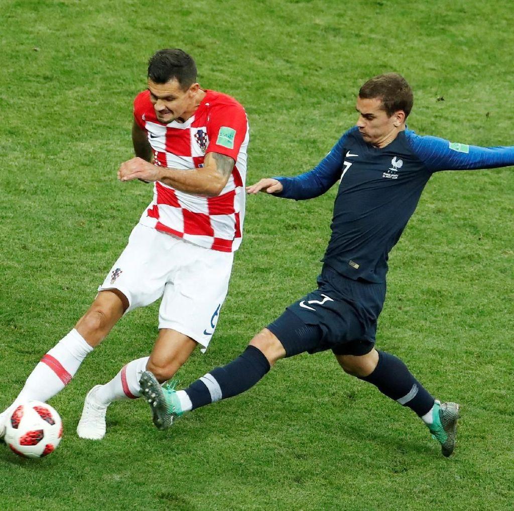 Lovren: Prancis Tak Main Sepakbola, Cuma Menunggu Kesempatan