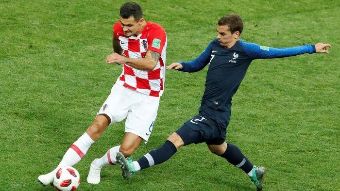 Dejan Lovren menilai Kroasia main lebih baik daripada Prancis di final Piala Dunia 2018 (Foto: Maxim Shemetov/Reuters)