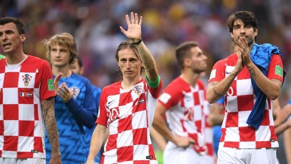 Modric: Tak Ada Penyesalan, Kroasia Lebih Baik dari Prancis