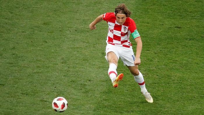 Agen Luka Modric mengungkapkan rencana kliennya bergabung dengan Inter Milan (Christian Hartmann/Reuters)