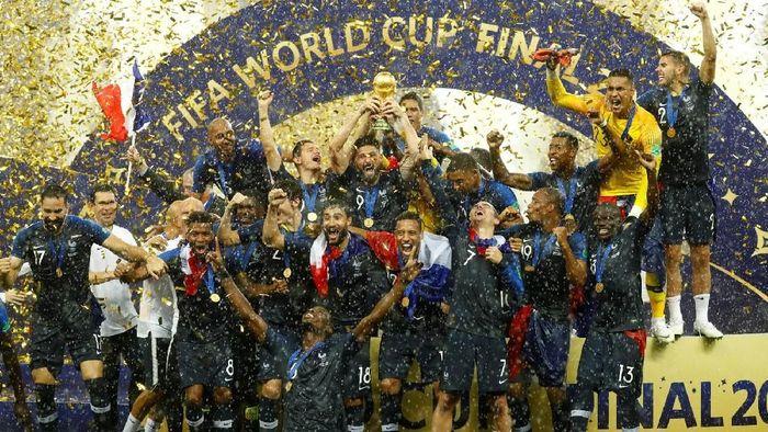 Antoine Griezmann menilai pemain Prancis pantas memenangi Ballon dOr 2018 (Foto: Reuters)