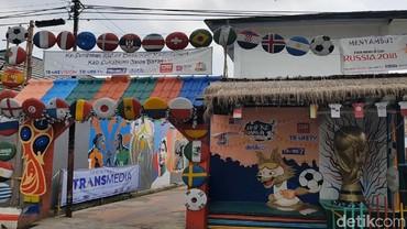 Juara Kampung Piala Dunia, Warga Sungapan Sukabumi Bangun Masjid