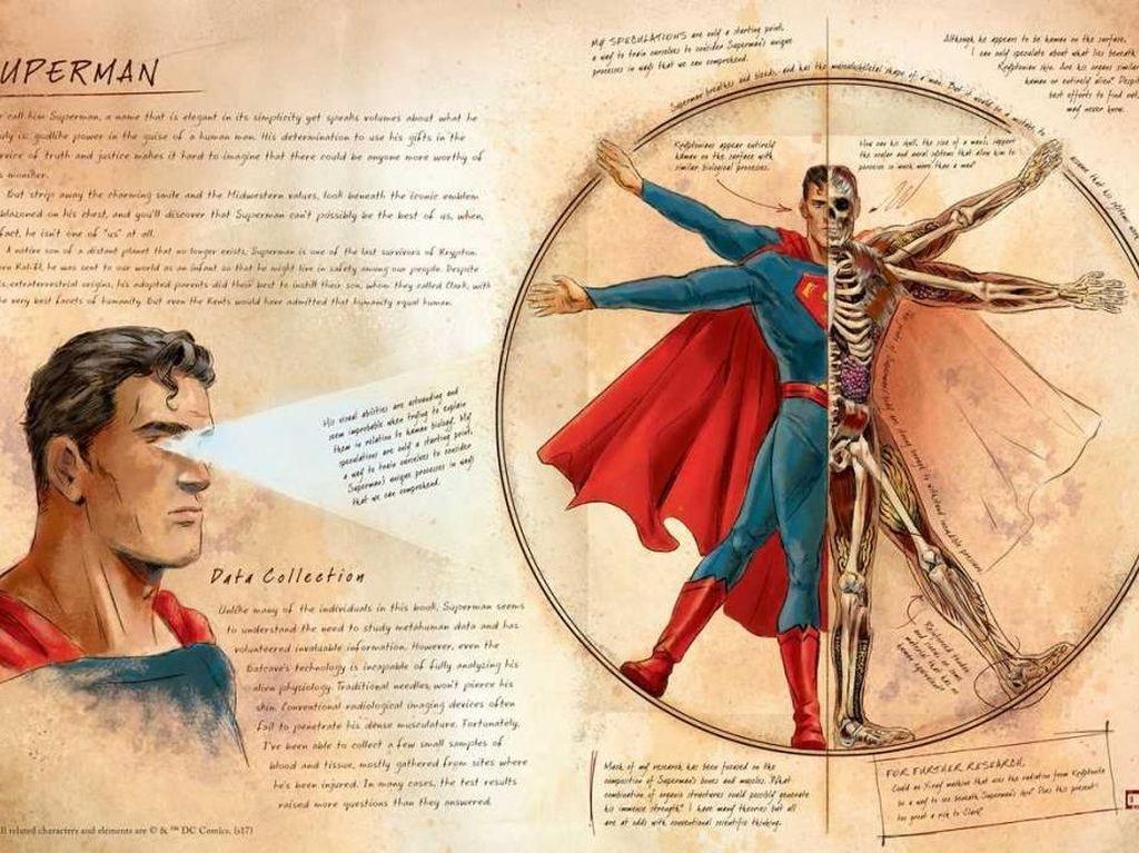 DC Comics Terbitkan Buku Anatomi Superhero yang Ditulis Batman
