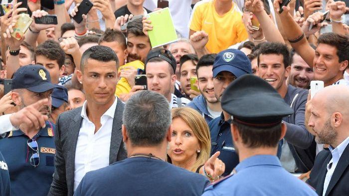 Pemain Juventus, Cristiano Ronaldo. (Foto: Massimo Pinca/Reuters)