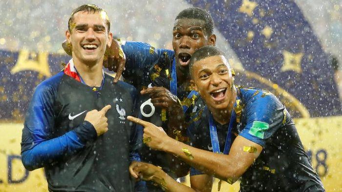 Prancis juara Piala Dunia 2018. (Foto: Reuters)