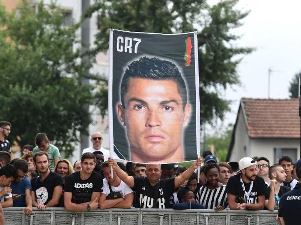 Sambutan Meriah Juventini untuk Ronaldo