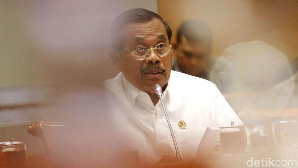 Jaksa Agung Rapat dengan Komisi III DPR soal Evaluasi Kinerja