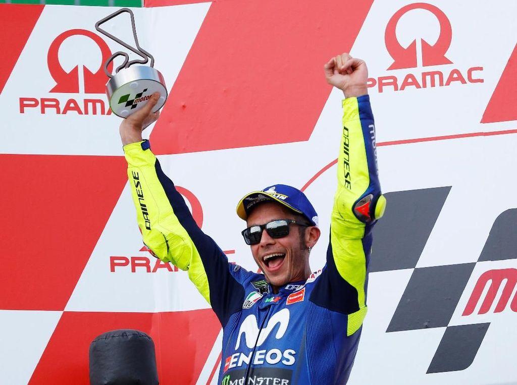 Rossi Targetkan Podium MotoGP Republik Ceko