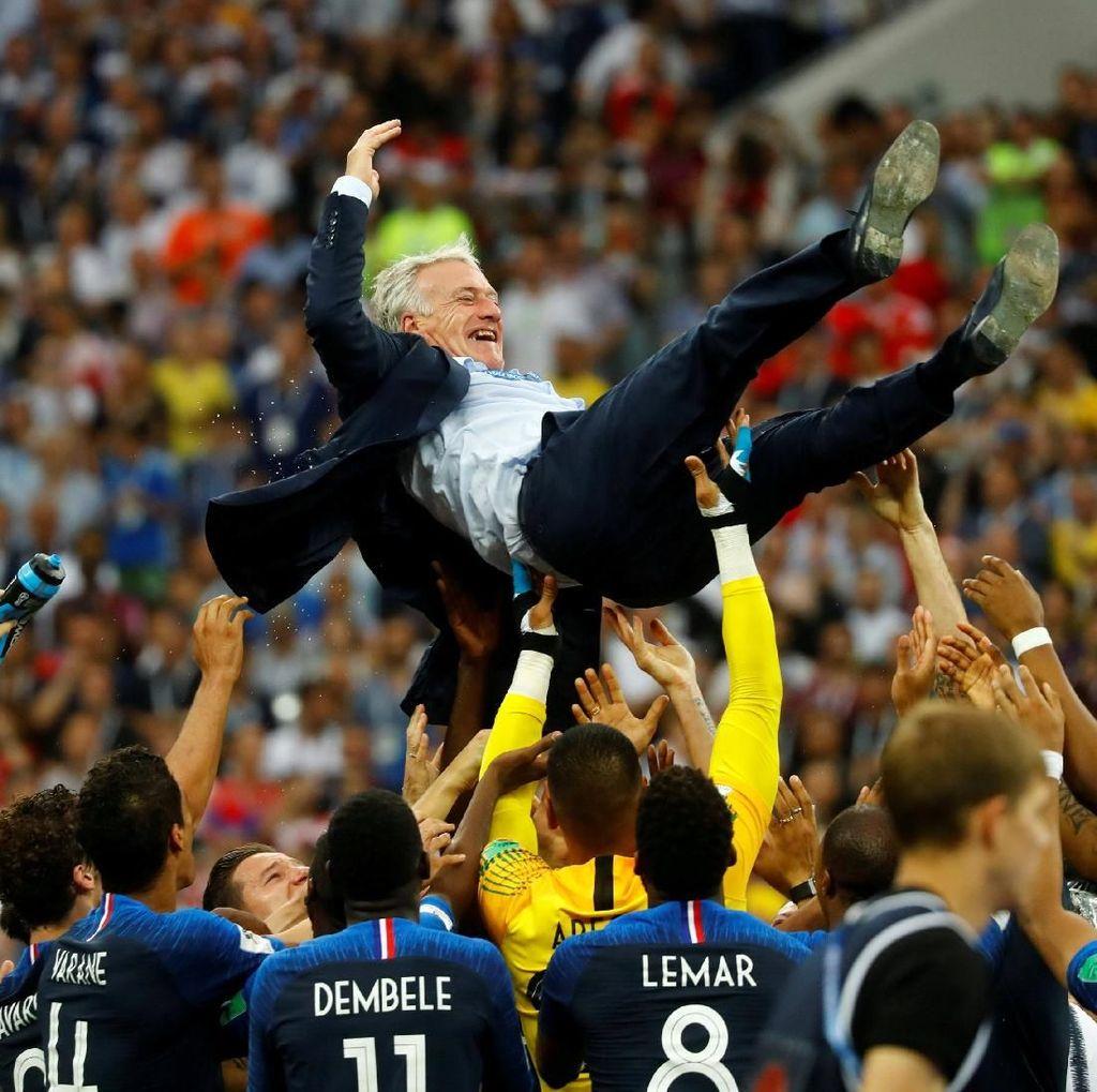 Begini Suasana Pesta Juara Prancis di Luzhniki