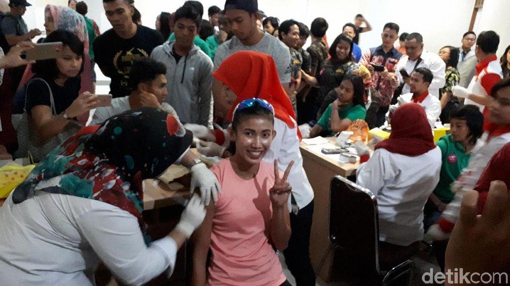 Sebulan Jelang Asian Games, Atlet Jalani Vaksinasi Influenza