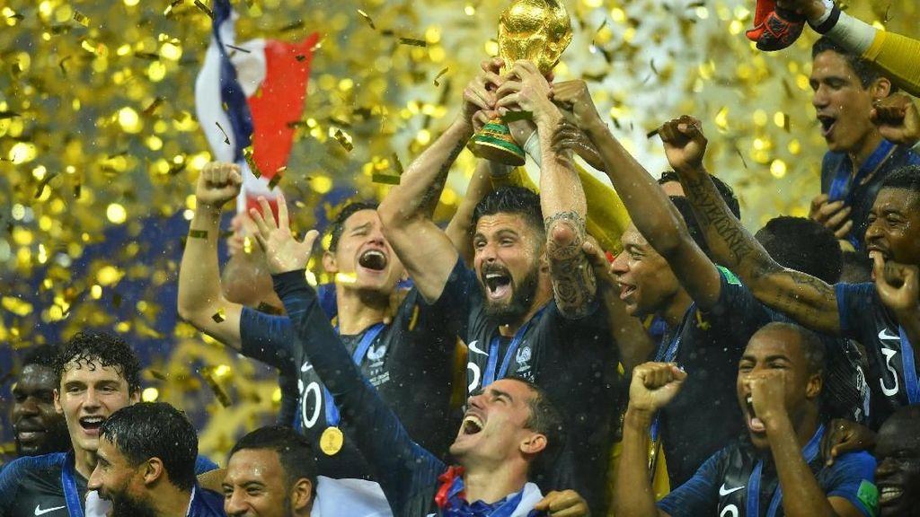 Abaikan Statistik Buruk di Piala Dunia 2018, Giroud: Yang Penting Juara
