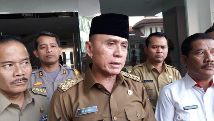 M Iriawan dapat dukungan tiga klub Liga 2 untuk jadi Ketum PSSI 2020-2024 (Isal Mawardi/detikcom)