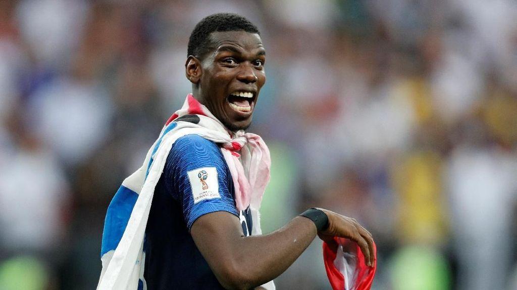 Sindiran Pogba Teruntuk Suporter Inggris: Its Coming Home...