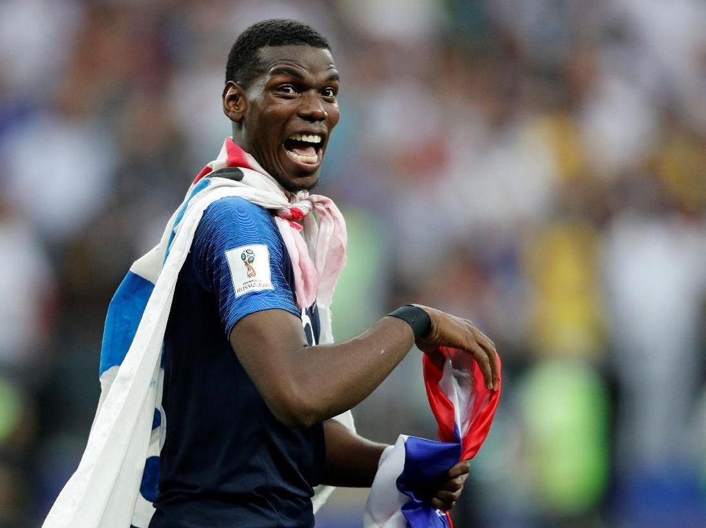 Serba Pertama dari Paul Pogba di Piala Dunia