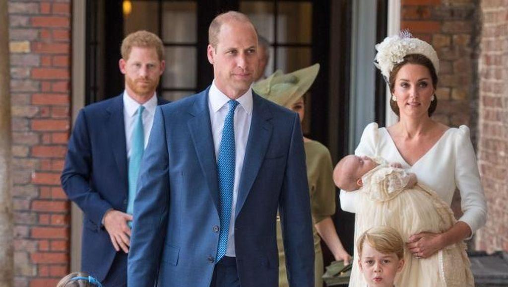 Foto-foto Pembaptisan Anak-anak Pangeran William-Kate Middleton