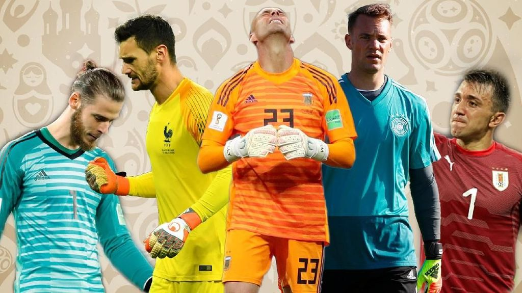 Video: Blunder Fatal Kiper Top di Piala Dunia 2018