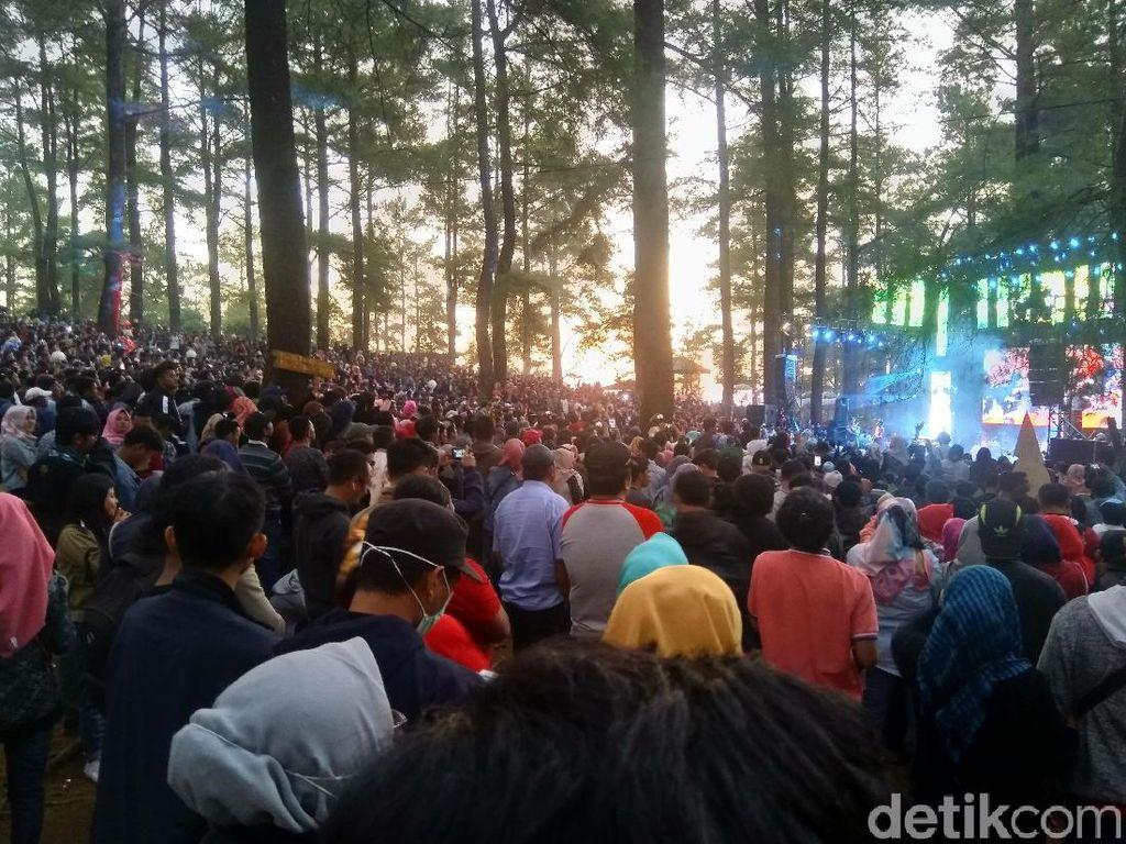 Ketika Kita Bisa Kemping Sambil Nonton Konser Musik di Hutan
