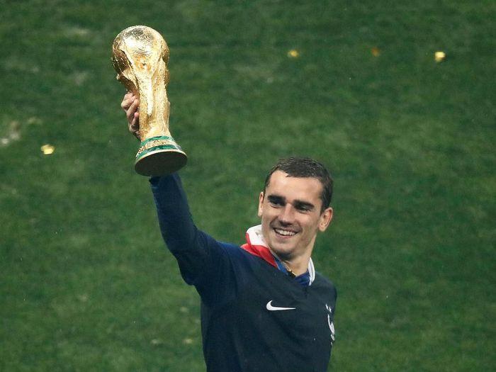 Pemain timnas Prancis, Antoine Griezmann. (Foto: Christian Hartmann/Reuters)