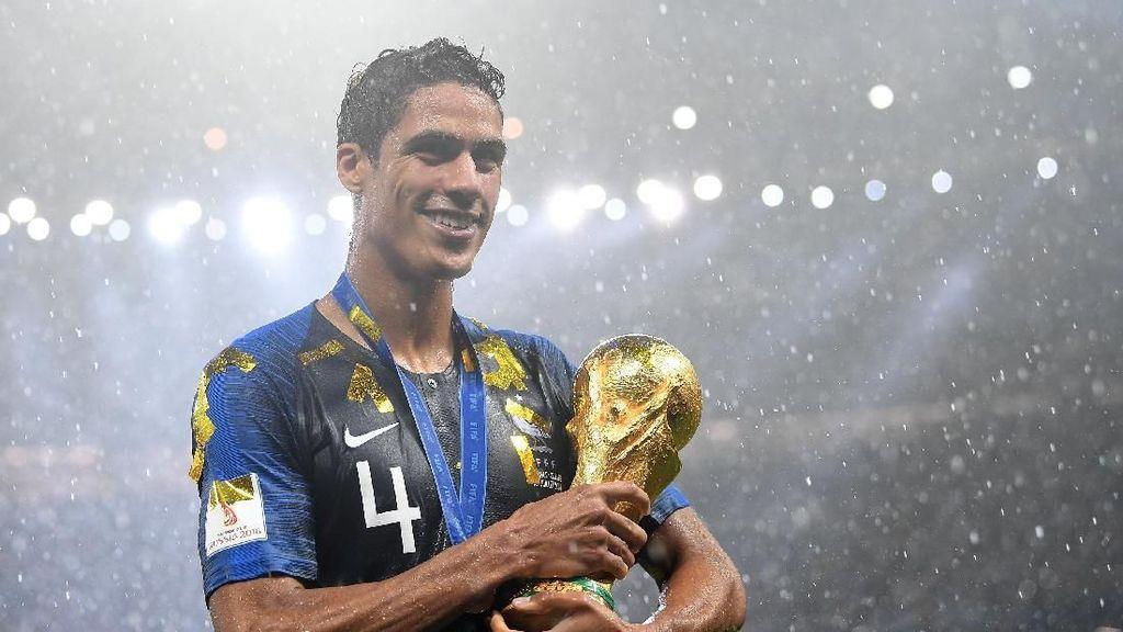 Varane Kawinkan Gelar Piala Dunia dan Liga Champions