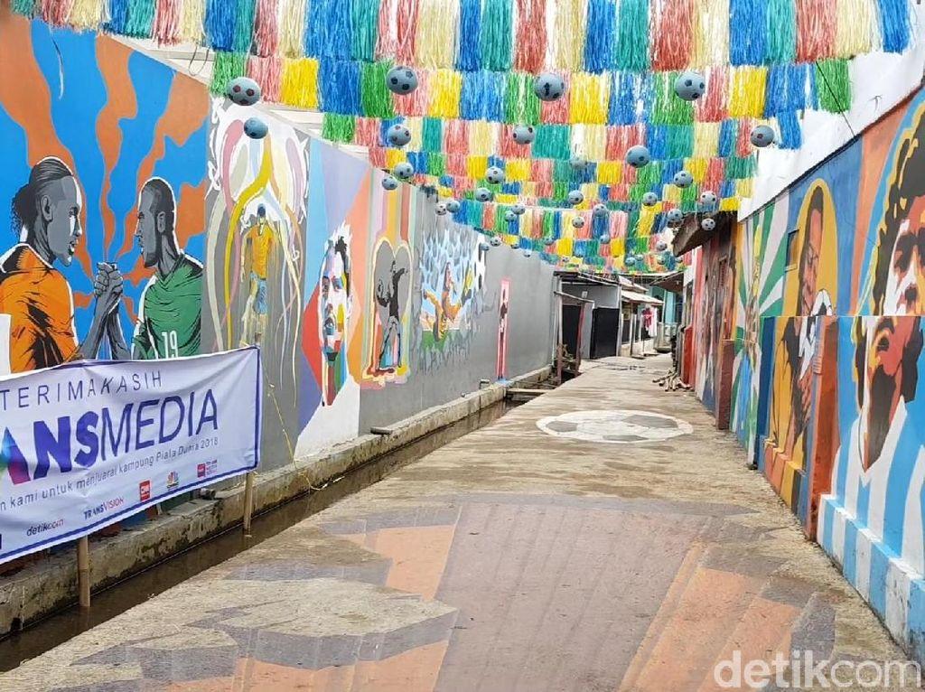 Juara Kampung Piala Dunia, Kampung di Sukabumi Banjir Pengunjung