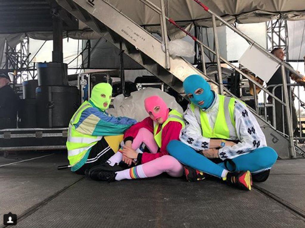 Diduga Rusak Aset Rusia, Anggota Band Pussy Riot Ditangkap Lagi