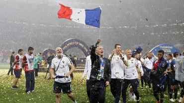 Dua Suporter Prancis Tewas dalam Perayaan Juara Piala Dunia 2018