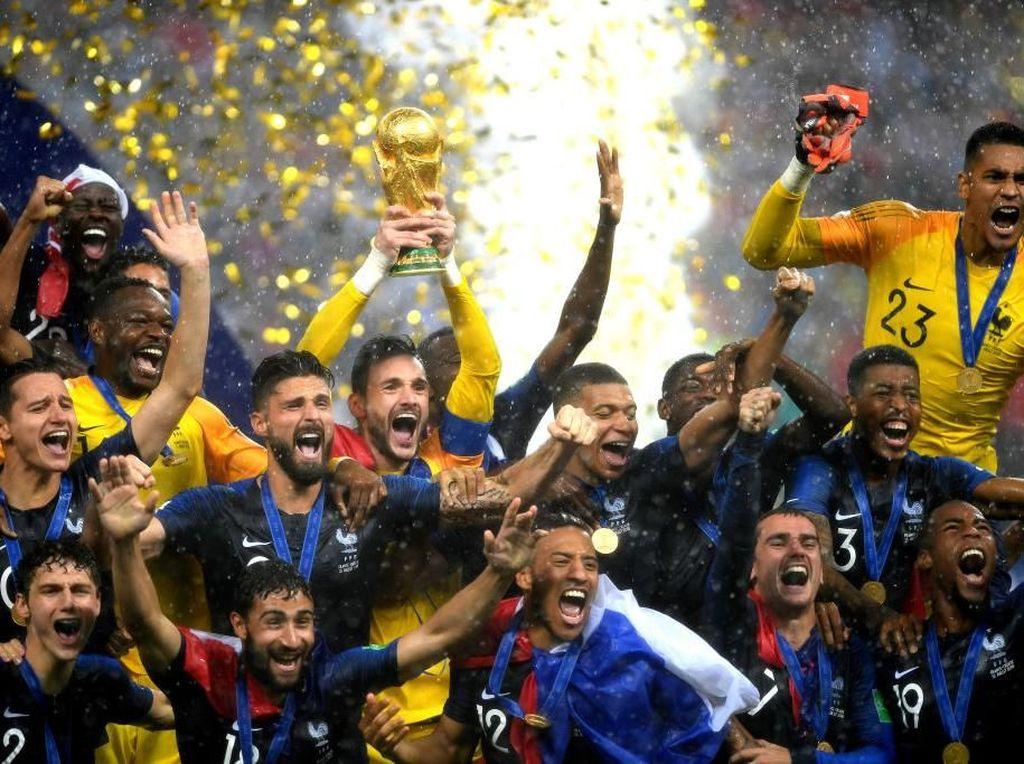 Prancis Juara Piala Dunia 2018, Netizen Ucapkan Selamat