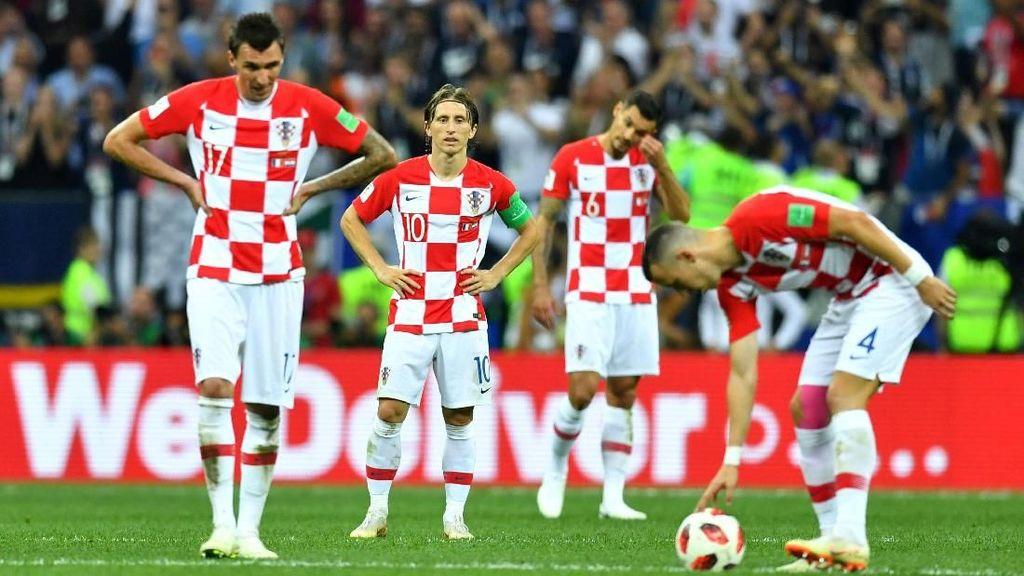 Dewi Fortuna Sedang Tidak Berpihak ke Kroasia