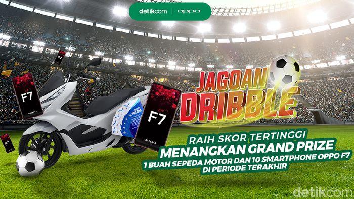 Ikuti game Jagoan Dribble dan raih kesempatan memenangkan motor dan smartphone (ist)