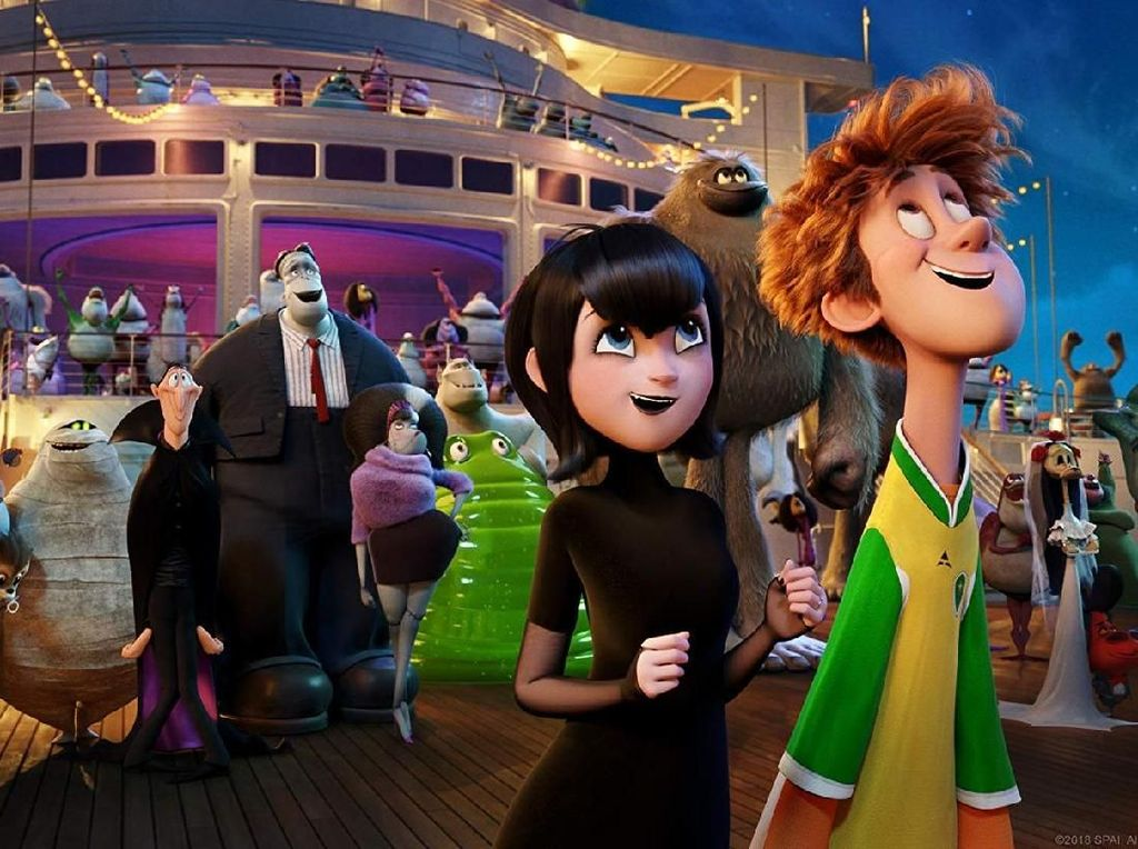 Hotel Transylvania 3: Summer Vacation Puncaki Box Office
