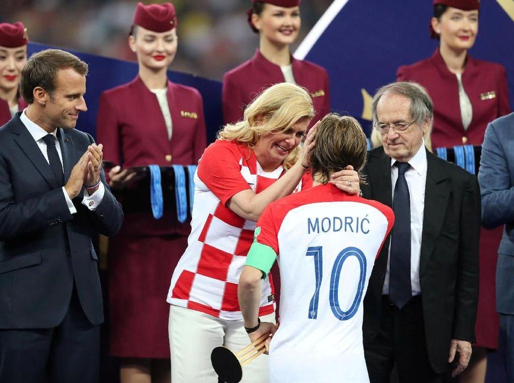 Kalah di Final, Presiden Kroasia: Kami di Puncak Dunia
