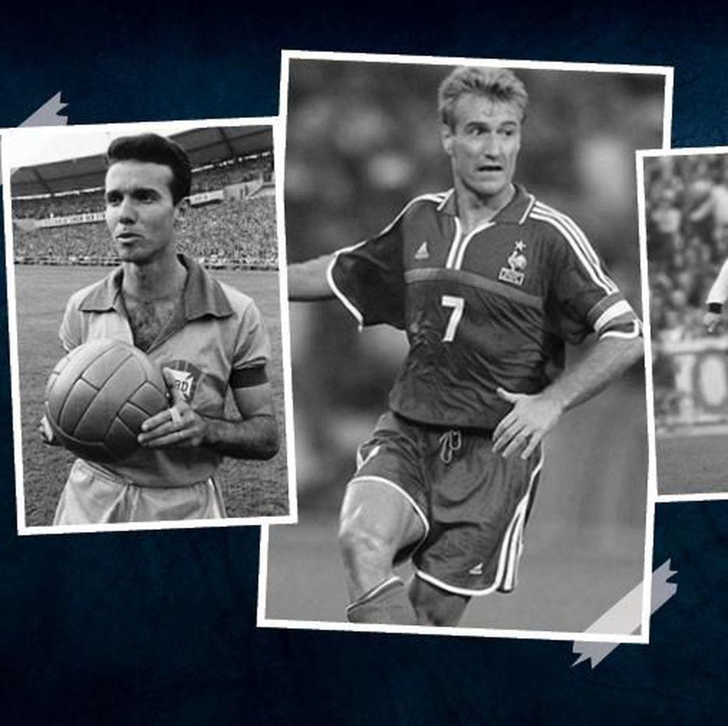 Deschamps dan 2 Pelatih Elite Piala Dunia Itu