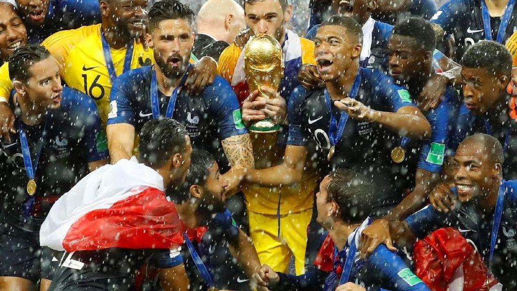 Sorak-sorai Gembira Kemenangan Prancis di Twitter