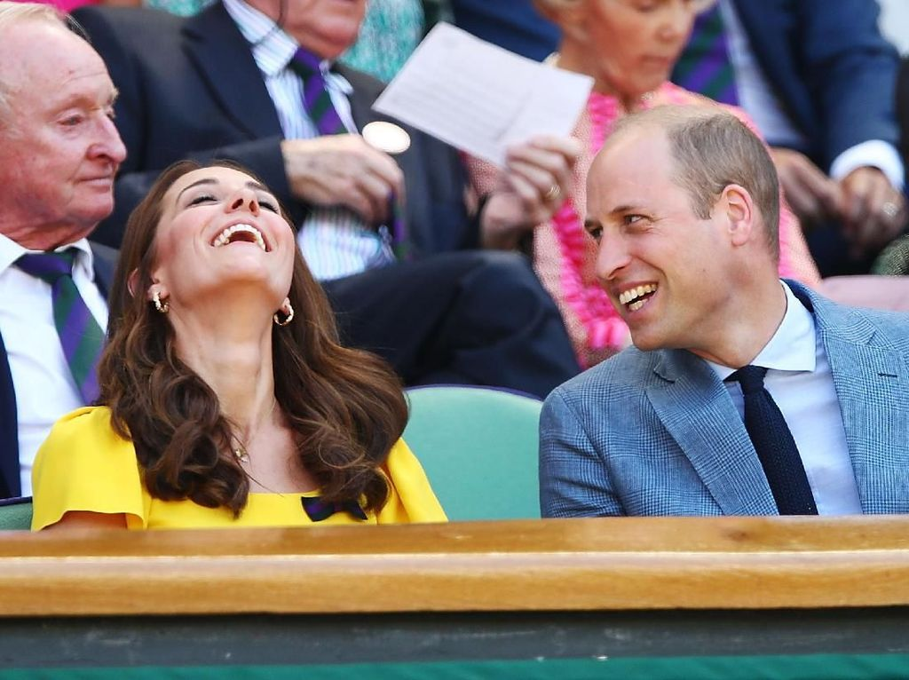 Begini Quality Time ala Kate Middleton dan Pangeran William