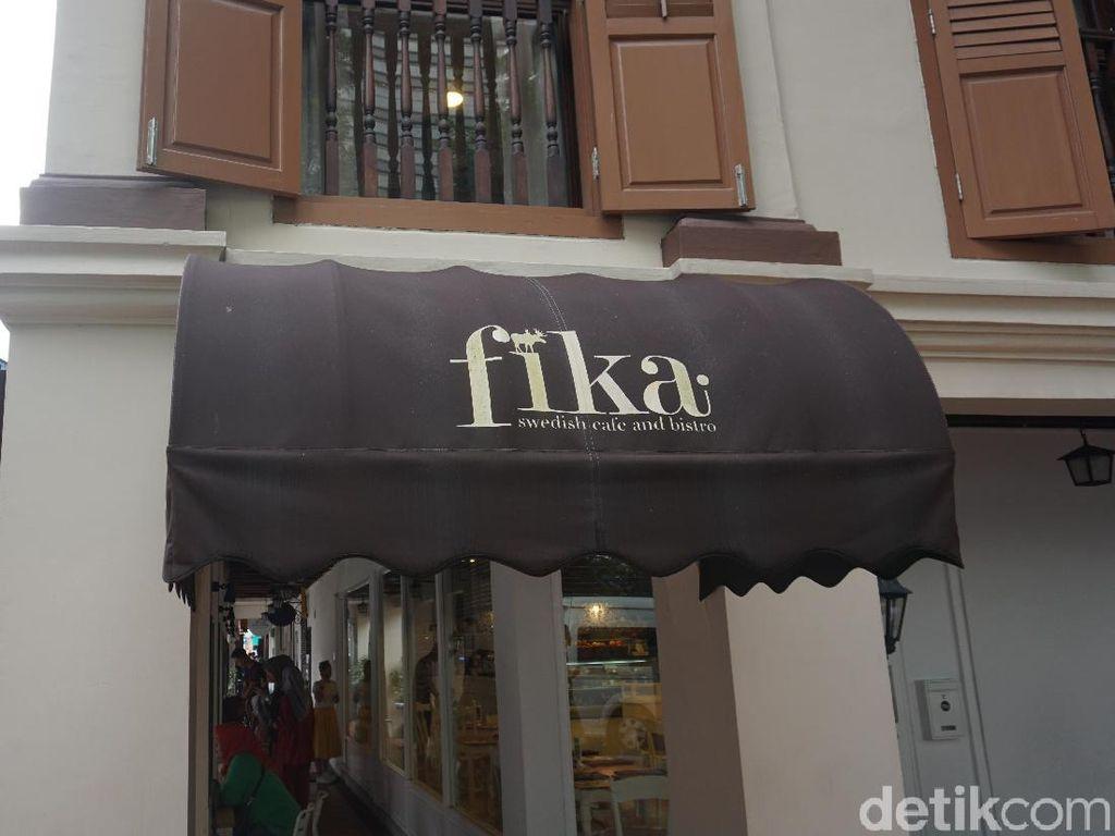 Foto: Kafe Halal Ala Swedia di Singapura