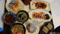Hidangan halal dari Chef Takehiko (Masaul/detikTravel)