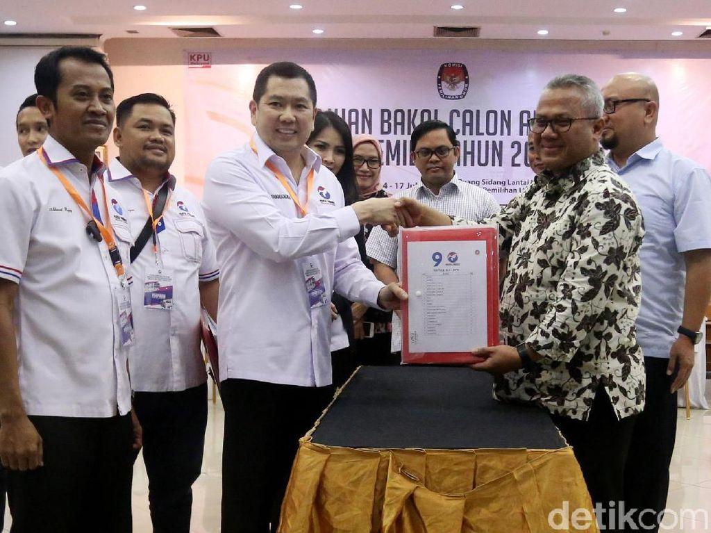 Hary Tanoe Daftarkan Bacaleg Perindo ke KPU