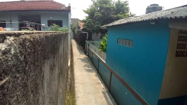 Lokasi pembegalan payudara mahasiswi di Kelapa Dua, Depok