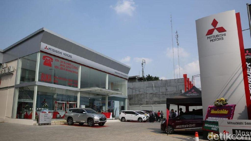 Mitsubishi Andalkan Xpander di Serang