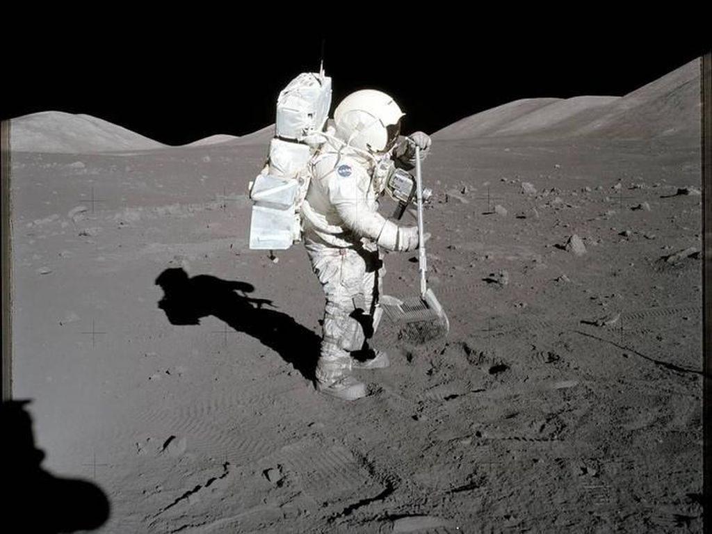 Potret Mencengangkan Terakhir Kali Manusia Mendarat di Bulan