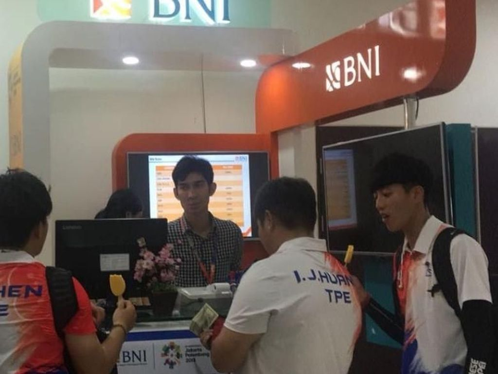 Dukung Asian Games 2018, BNI Buka 28 Outlet Penukaran Mata Uang