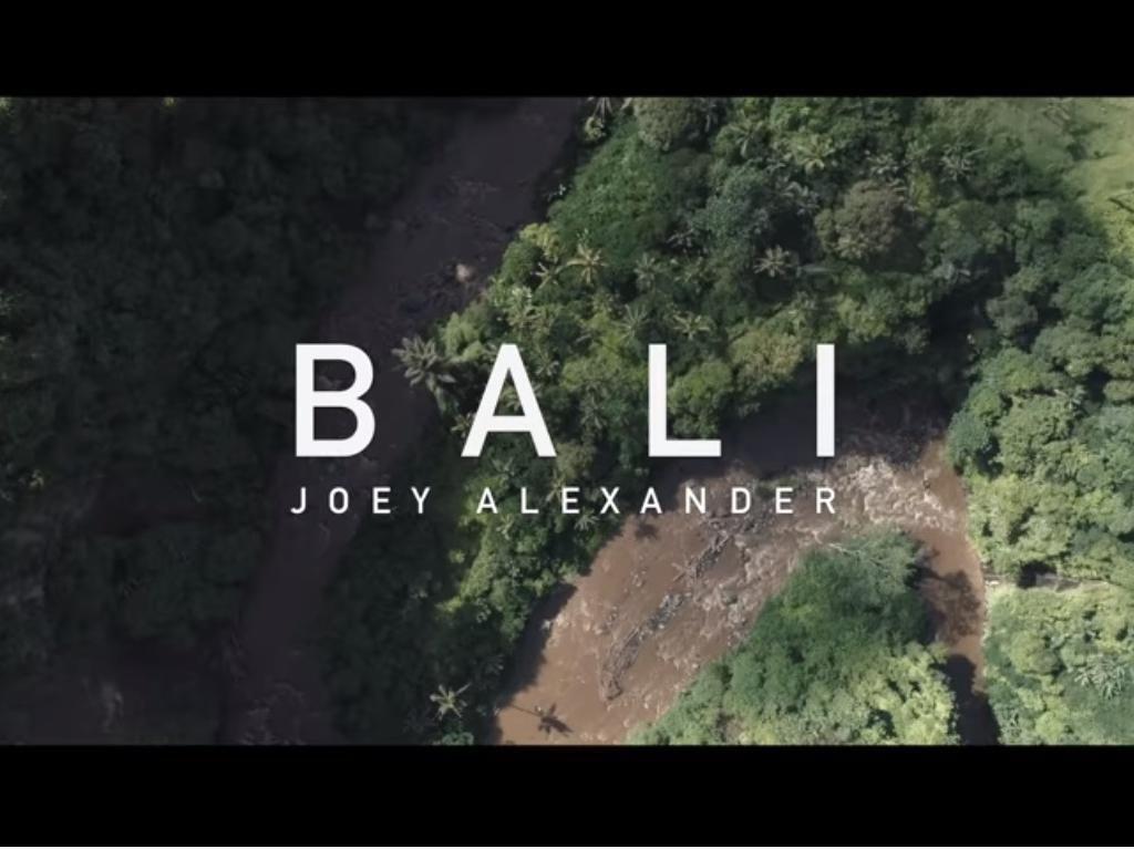 Pianis Jenius Joey Alexander Promosi Bali Lewat Videoklip Terbaru