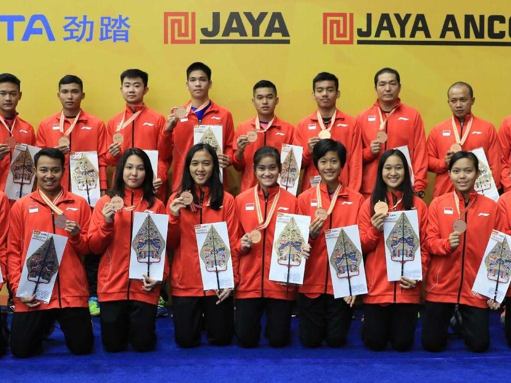 Kejuaraan Asia Bulutangkis Junior: China Juara, Indonesia Ketiga