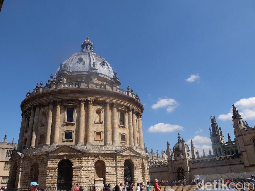 Foto: Bangunan Paling Dicari di Kota Oxford