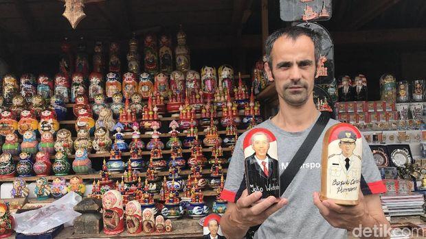 Ada Boneka Matryoshka Jokowi dan Ahok di Rusia