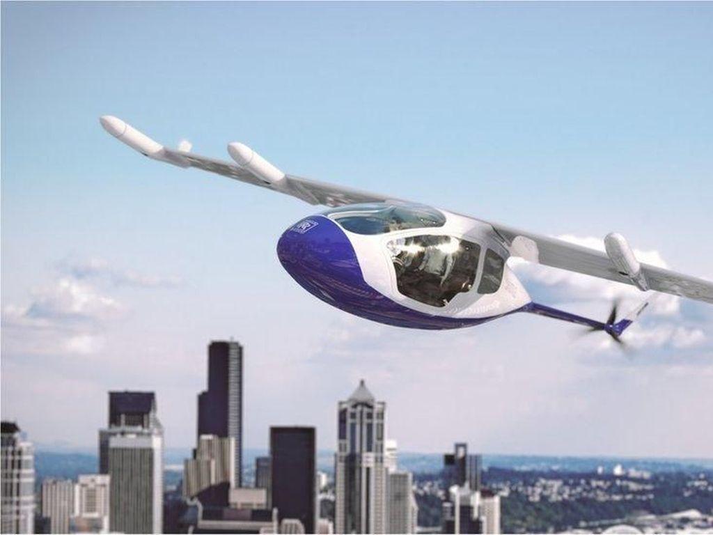 Rolls-Royce Kembangkan Proyek Taksi Terbang