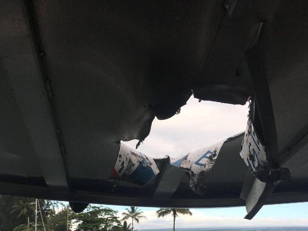Bom Lava Hantam Kapal Wisata di Hawaii, 23 Orang Luka-luka